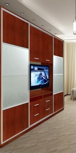 Дизайн шкафа-купе с нишей (фото 2)