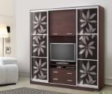 шкаф-купе с нишей для ТВ