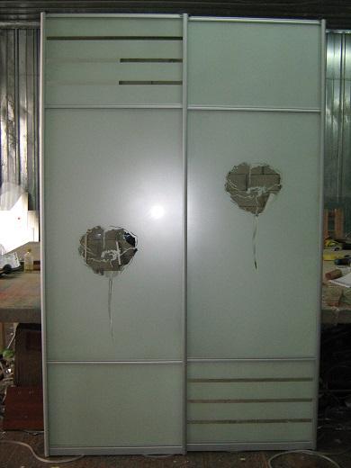 шкафы-купе с пескоструем (фото 18)
