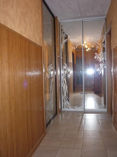 шкафы-купе с пескоструем (фото 5)