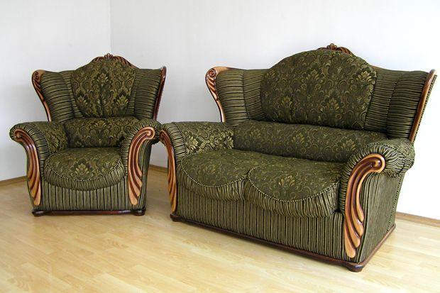 """Кресло и диван-""""двойка"""" """"Герцог"""" в комплект"""