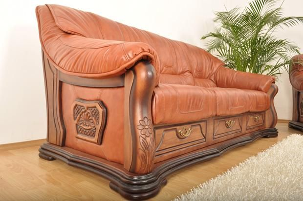 """Деревянный декор дивана """"Лорд"""""""