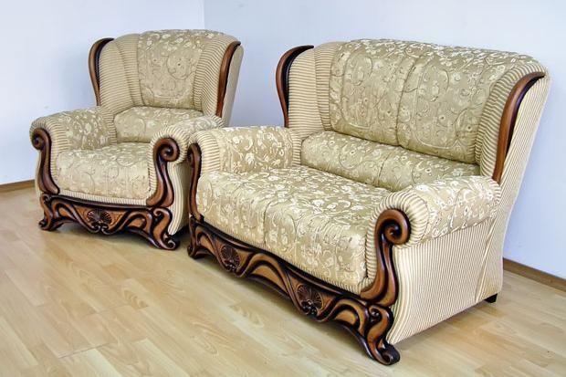 """Кресло и диван-""""двойка"""" """"Посейдон"""" в комплект"""