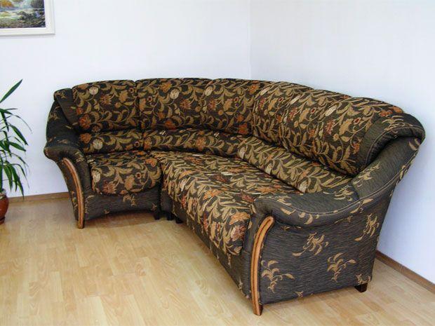 """Угловой диван """"Фламинго"""": вид сбоку"""