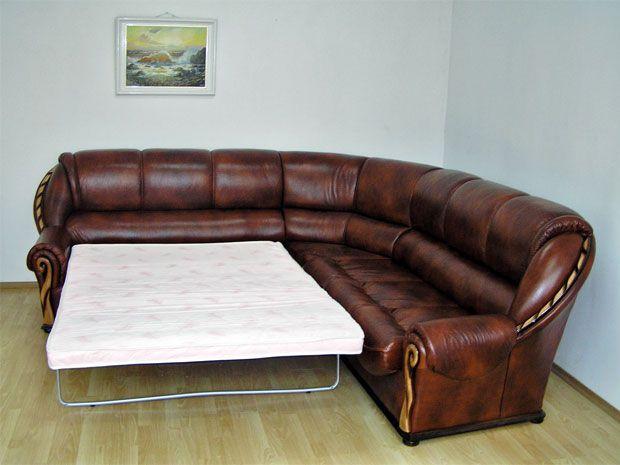 """Угловой диван """"Луиза"""" в разложенном виде"""