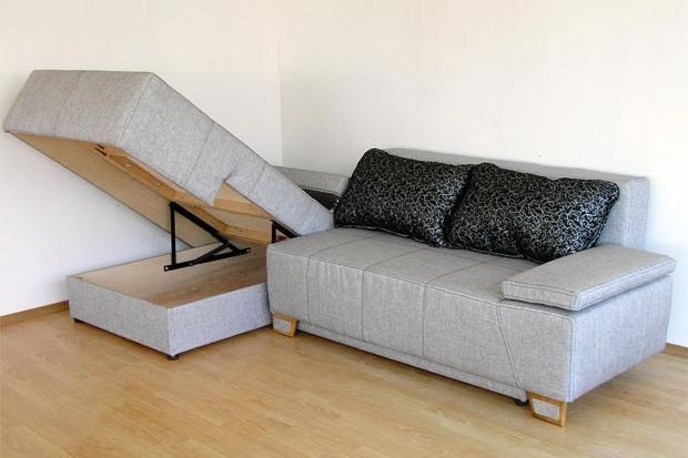 """Угловой диван """"Матадор"""": короб для белья"""