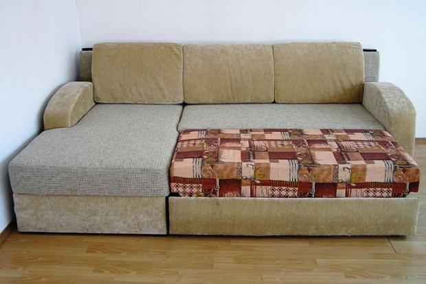 """Угловой диван """"Аризона"""" в разложенном виде"""