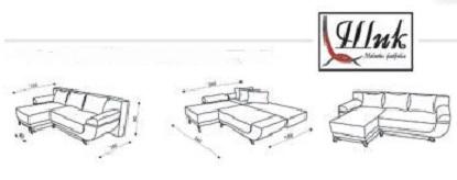 """Схема углового дивана """"Мерлин"""""""